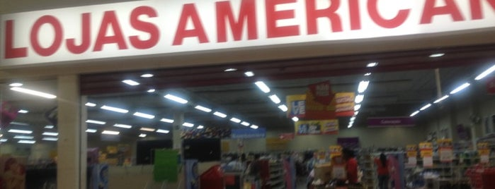 Lojas Americanas is one of Locais curtidos por João Paulo.