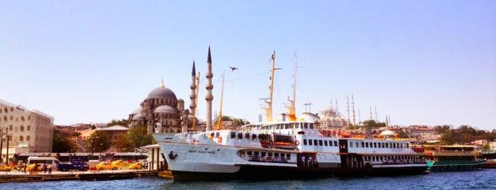 Eminönü - Kadıköy Vapur İskelesi is one of Dilara'nın Kaydettiği Mekanlar.