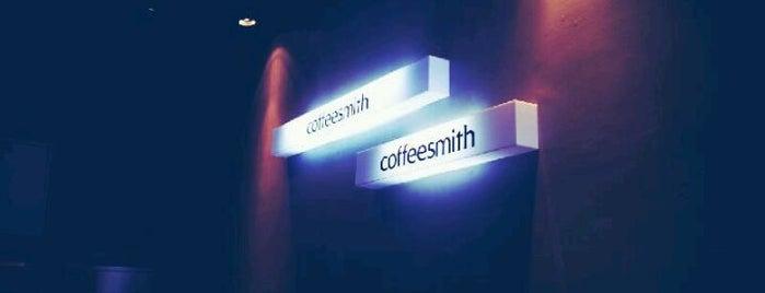 coffeesmith is one of 송도에서 자주 가는곳.