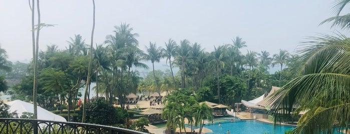 Shangri-La's Rasa Sentosa Resort & Spa is one of The vest hotel.