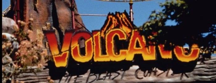 Volcano: The Blast Coaster - Kings Dominion is one of Posti che sono piaciuti a Chris.
