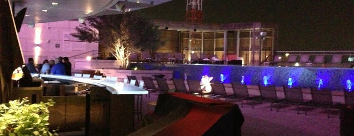 Uptown Terrace Pool Bar & Grill is one of patio.