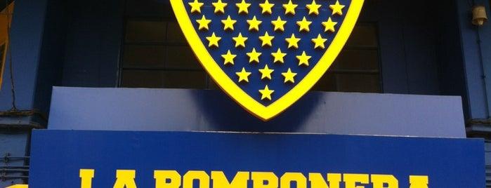"Estadio Alberto J. Armando ""La Bombonera"" (Club Atlético Boca Juniors) is one of Bs As."