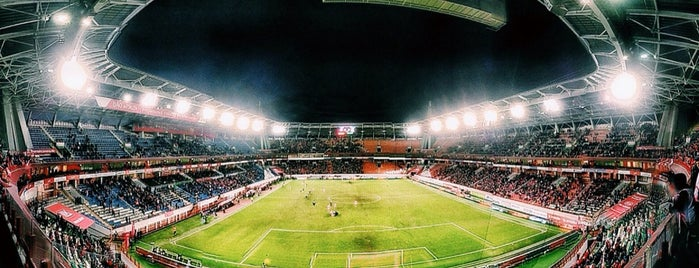 РЖД Арена is one of Stadiums I've been to.