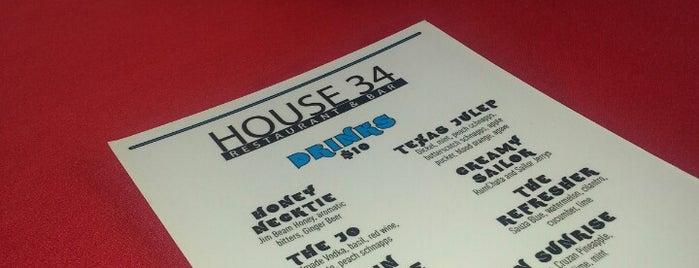 House 34 Dallas Restaurant & Bar is one of Locais curtidos por Omar.