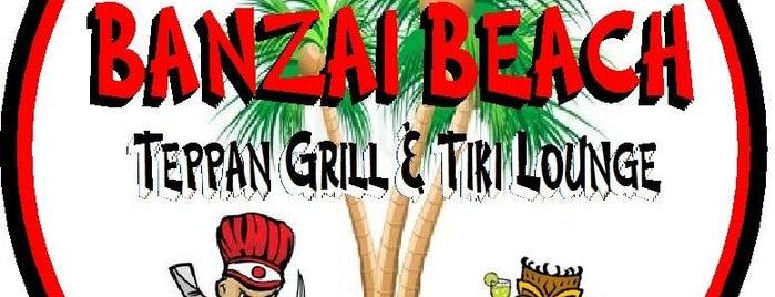 Banzai Beach Teppan Grill & Tiki Lounge is one of Hermosa Beach.