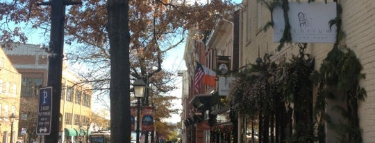 Old Town Alexandria is one of Washington DC.