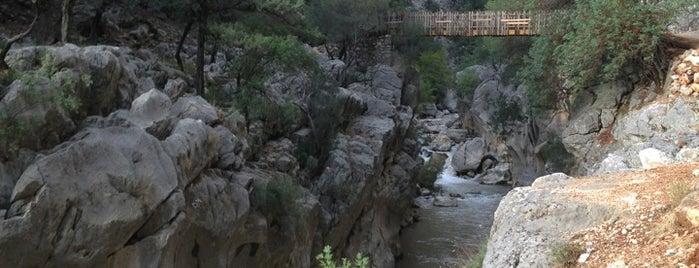 Yazılı Kanyon Tabiat Parkı is one of Denizli & Aydın & Burdur & Isparta & Uşak & Afyon.