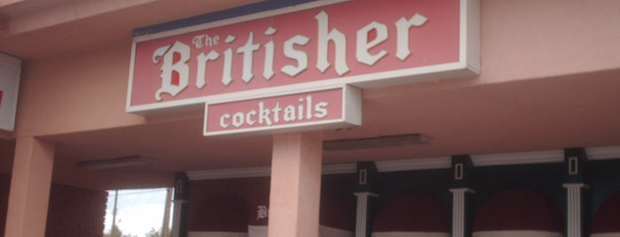 The Britisher is one of Top picks for Bars.