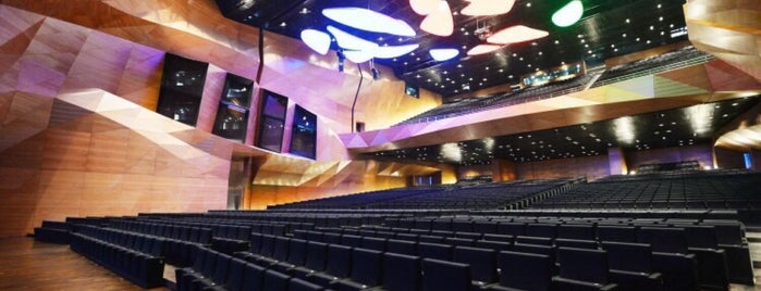 Baku Convention Center is one of visited int..