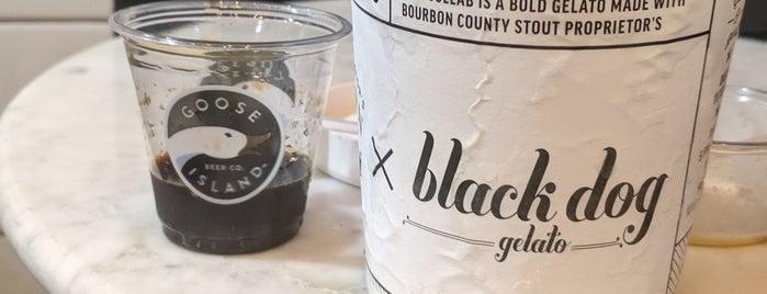 Black Dog Gelato is one of Chicago.