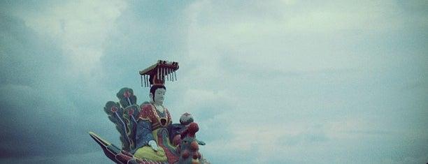 Tin Hau Statue is one of Tempat yang Disukai Marisa.