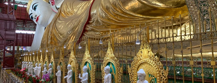 Chauk Htat Gyi Buddha Temple is one of Yangon - Myanmar.