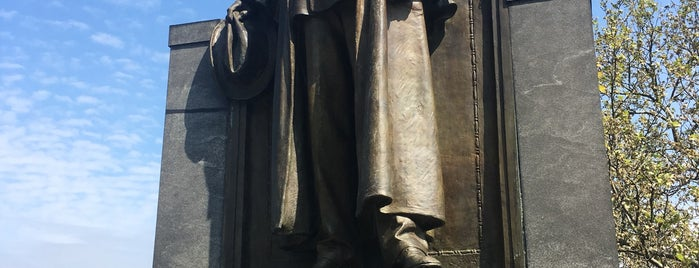 Carl Schurz Memorial is one of NYC.