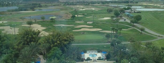Omni Orlando Resort at ChampionsGate is one of Sativaさんのお気に入りスポット.