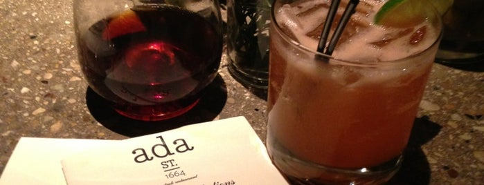 Ada Street is one of To try.
