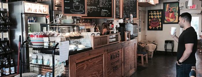 Maas Coffee Roasters is one of Gulf Coast restaurants.