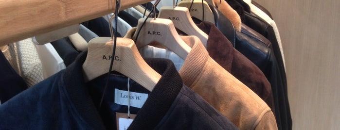A.P.C. is one of Paris, je t'aime.