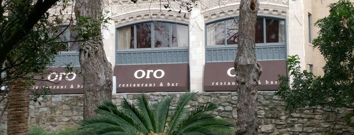 Oro Restaurant is one of Locais curtidos por Sergio M. 🇲🇽🇧🇷🇱🇷.