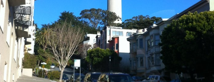 Coit Tower is one of San Francisco, CA Spots.