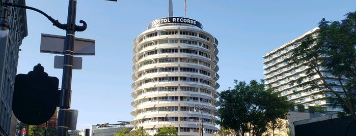 Capitol Records is one of Lonely Planet LA.