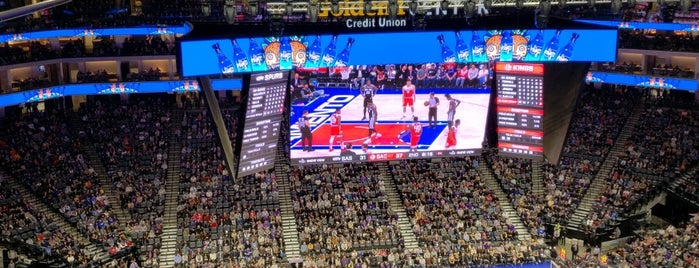Golden 1 Center is one of sports arenas and stadiums.