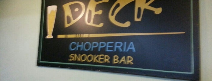 Deck Choperia e Snooker Bar is one of Bares/Pubs.