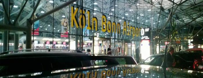 Köln Bonn Airport (CGN) is one of Jörgさんのお気に入りスポット.