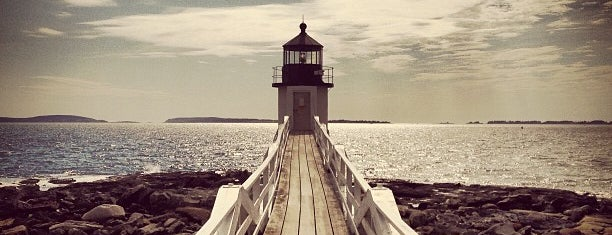 Marshall Point Lighthouse is one of March Portland.