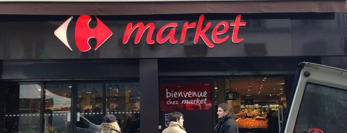 Carrefour Market is one of Paris.