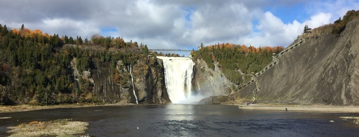 Parc de la Chute-Montmorency is one of Go Ahead, Be A Tourist.