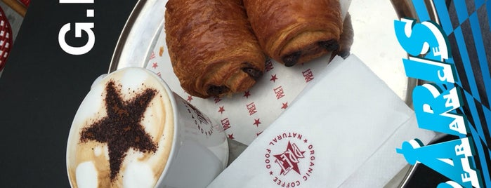 Pret A Manger is one of Working places Paris.