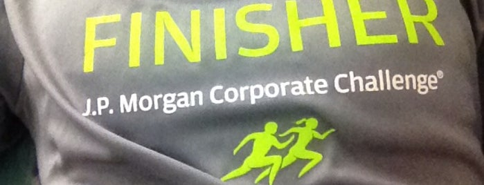 J.P. Morgan Corporate Challenge is one of Locais salvos de JRA.