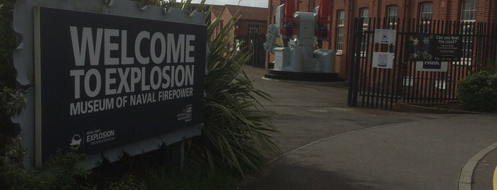 Explosion! Museum of Naval Firepower is one of Paranormal Sights.
