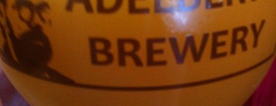 Adelbert's Brewery is one of SXSW 2013.