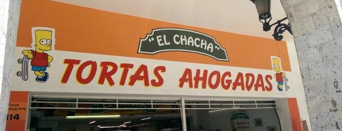 Tortas Ahogadas El Chacha is one of Posti che sono piaciuti a Jose.