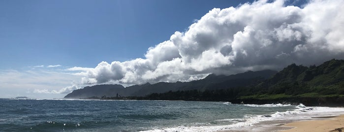 Pounders Beach is one of North Shore Oahu.