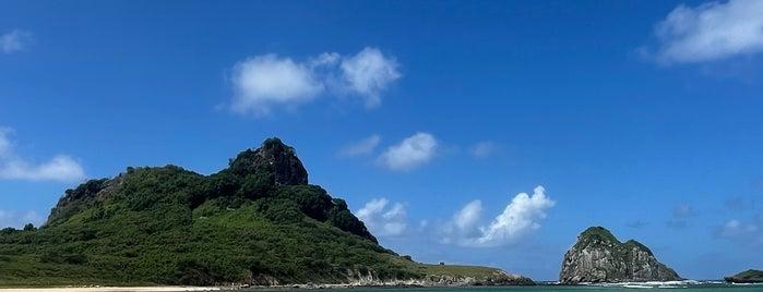 Praia do Sueste is one of Noronha.