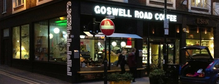 Goswell Road Coffee is one of Gespeicherte Orte von Eva.
