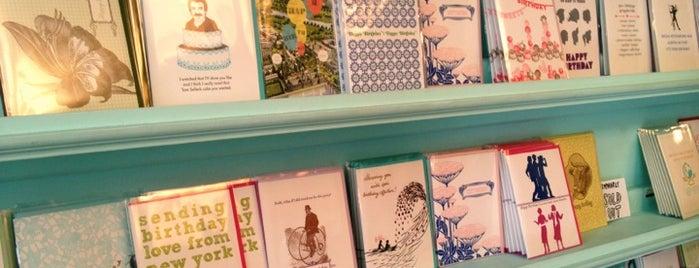 Greenwich Letterpress is one of Shop.