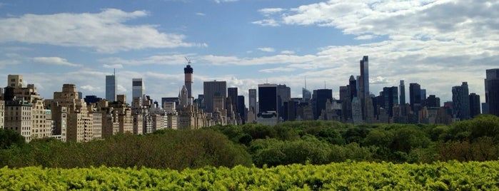 Iris & B Gerald Cantor Roof Garden is one of NYC Rooftops - avoiding Midtown & Indoors.