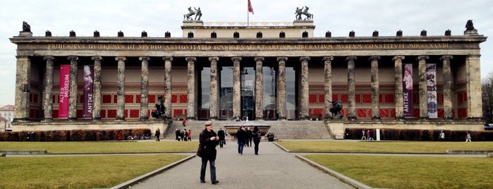 Altes Museum is one of Berlin, Germany.