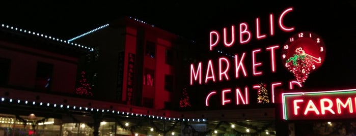 Pike Place Market is one of Lost in Seattle.