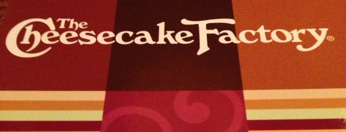 The Cheesecake Factory is one of Jeddah, The Bride Of The Red Sea.