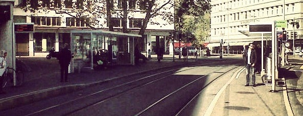 VBZ Sihlstrasse is one of Zurich: business trip 2014-2015.