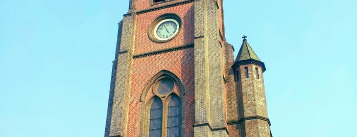 Myeongdong Cathedral is one of Korea.
