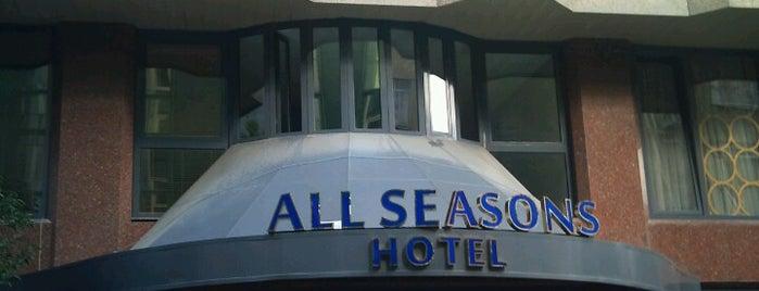 All Seasons Hotel Istanbul is one of Orte, die Emre gefallen.