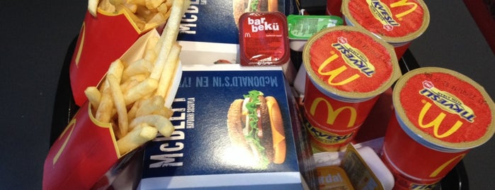 McDonald's is one of Istanbul.