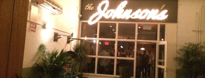 The Johnson's is one of NYC/BKLN: American.