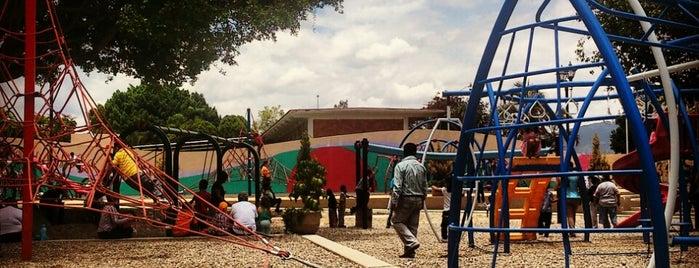 Parque Recreativo Infantil Oaxaca is one of Orte, die Zazil gefallen.